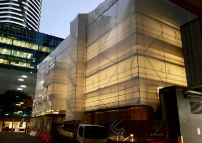 07-414 George St-Facade WIP-01