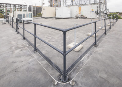 MVA Roof Membrane Safety System