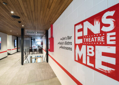 08-Ensemble Theatre-Hand Drawn Signage_Lobby