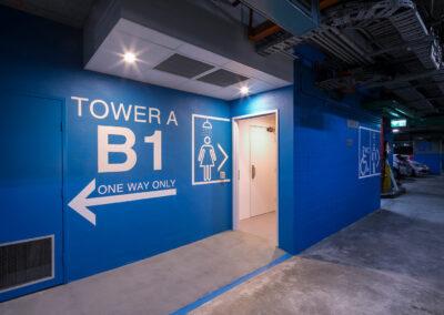01-Citadel-Towers-Female-Bathroom-Entrance