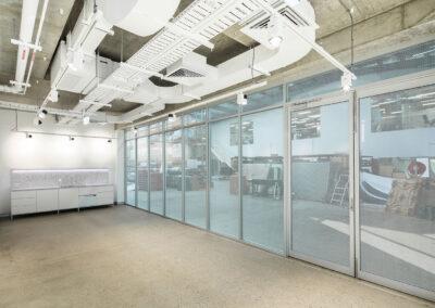 02-Koala-U11 Ground Floor with U12 Mezzanine Extension behind Perforated Privacy Film