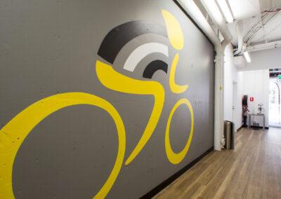 10-Scenic Cycle-Corridor with Vinyl Logo