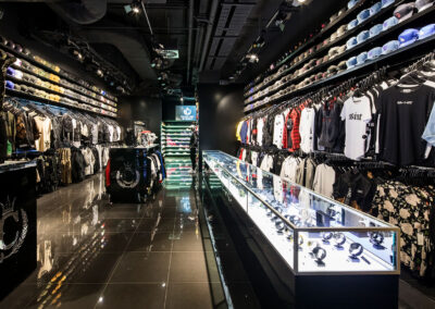 15-Culture Kings-Display Cabinet & Retail Space